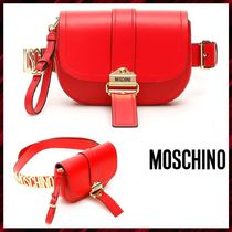 Moschino Leather Hip Packs