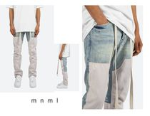 MNML Denim Street Style Plain Cotton Jeans