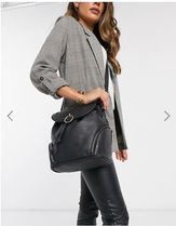 Warehouse Casual Style Faux Fur 2WAY Backpacks