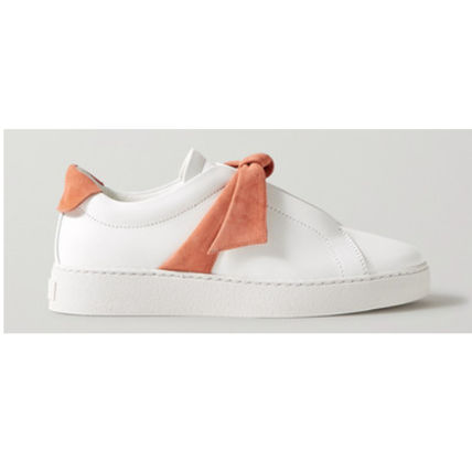 Unisex Plain Elegant Style Low-Top Sneakers