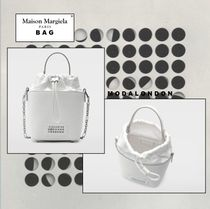 Maison Margiela ◯ Maison Margiela Plain Leather Party Style Office Style