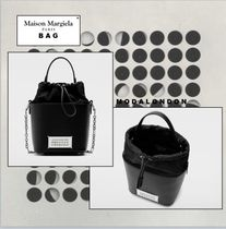 Maison Margiela ◯ Maison Margiela Leather Party Style Office Style