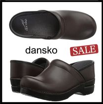 DANSKO Round Toe Casual Style Plain Sabo Slip-On Shoes