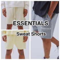 FEAR OF GOD ESSENTIALS Unisex Sweat Street Style Plain Cotton Shorts