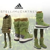 adidas by Stella McCartney Casual Style Mid Heel Boots