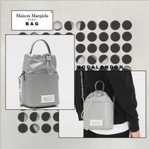 Maison Margiela ◯ Maison Margiela 2WAY Plain Leather Shoulder Bags