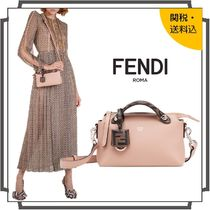 FENDI BY THE WAY Monogram Casual Style Blended Fabrics Studded 2WAY Bi-color