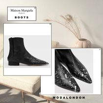 Maison Margiela 【Maison Margiela】 Paint leather ankle boots