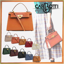CARBOTTI 2WAY Leather Bags