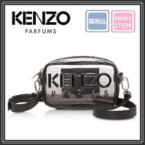 KENZO Casual Style Plain Crystal Clear Bags PVC Clothing