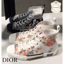 Christian Dior Flower Patterns Sneakers