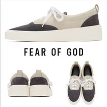 FEAR OF GOD Unisex Suede Leather Sneakers