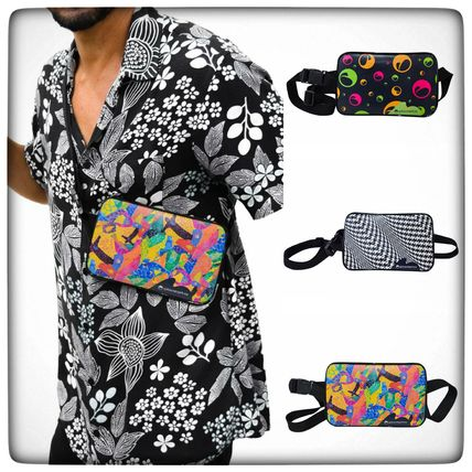 Other Plaid Patterns Dots Tropical Patterns Unisex 2WAY 3WAY