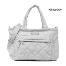 MARC JACOBS Marc Jacobs Quilted Nylon Baby Bag & Changing Pad