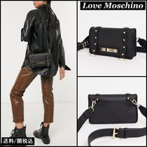 Love Moschino Faux Fur Shoulder Bags