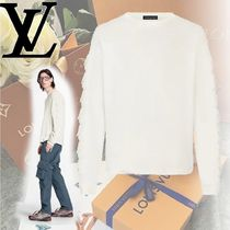 Louis Vuitton Long Sleeves Plain Cotton Long Sleeve T-shirt