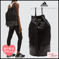 adidas by Stella McCartney Casual Style Blended Fabrics 2WAY Plain Shoulder Bags