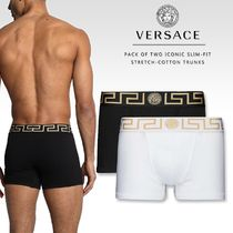 VERSACE Plain Cotton Boxer Briefs
