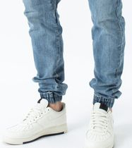 Ron Herman Joggers Unisex Denim Blended Fabrics Street Style Plain Cotton 8