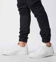 Ron Herman Joggers Unisex Denim Blended Fabrics Street Style Plain Cotton 12