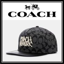 Coach SIGNATURE Unisex Collaboration Caps