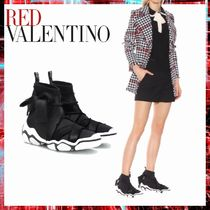 RED VALENTINO Casual Style Low-Top Sneakers
