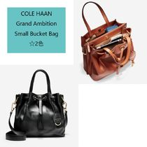 Cole Haan Casual Style Street Style 2WAY Leather Party Style Purses