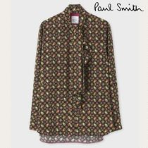 Paul Smith Casual Style Long Sleeves Plain Other Animal Patterns Medium