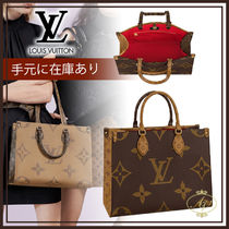 Louis Vuitton MONOGRAM Monogram Casual Style Unisex Canvas Blended Fabrics A4 2WAY
