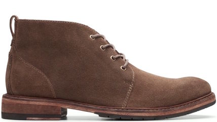 Clarks Mountain Boots Leather Chelsea Boots Gore-Tex Outdoor Boots