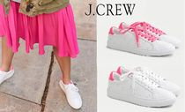 J Crew Round Toe Rubber Sole Lace-up Casual Style Unisex