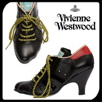 Vivienne Westwood Plain Leather Ankle & Booties Boots