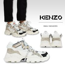 KENZO Unisex Street Style Collaboration Sneakers