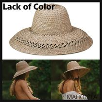 lack of color Handmade Straw Boaters Straw Hats