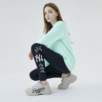MLB Korea Casual Style Unisex Street Style Logo Low-Top Sneakers