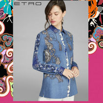 ETRO Long Sleeves Cotton Shirts & Blouses