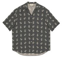 GUCCI Casual Style Street Style Cotton Short Sleeves