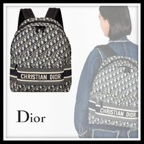 Christian Dior Casual Style Backpacks