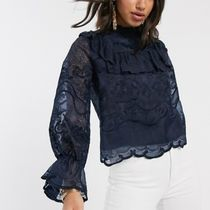 YAS Long Sleeves Lace Shirts & Blouses