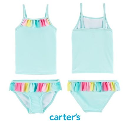 Street Style Collaboration Co-ord Kids Girl Swimwear