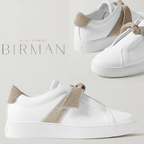 Alexandre Birman Casual Style Plain Leather Low-Top Sneakers
