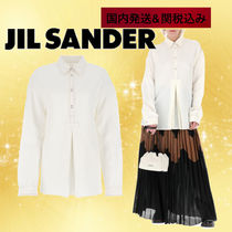 Jil Sander Casual Style Linen Office Style Shirts & Blouses
