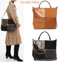 See by Chloe Plain Leather Totes