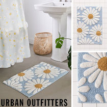 Urban Outfitters Flower Patterns Unisex Bath Mats & Rugs HOME