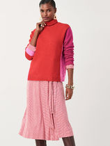 DIANE von FURSTENBERG Wool Cashmere Long Sleeves Turtlenecks