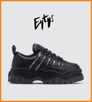 Eytys Plain Leather Sneakers
