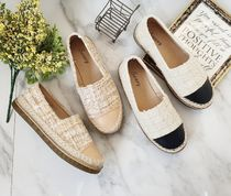 Other Plaid Patterns Round Toe Casual Style Office Style