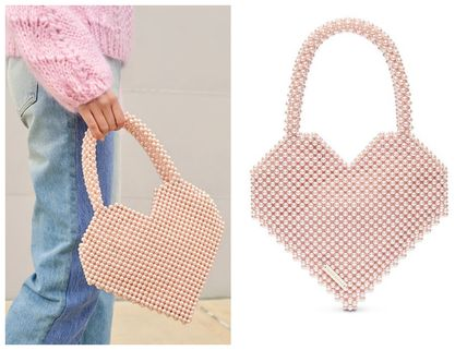 Heart Casual Style Party Style Elegant Style Handbags