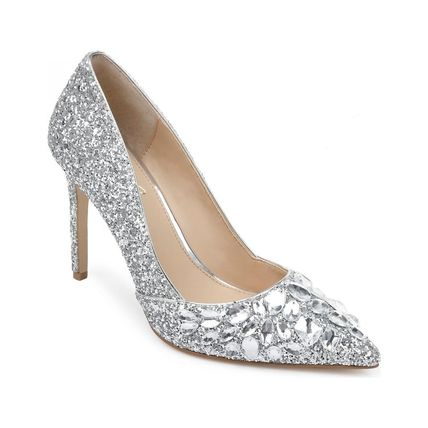 Pin Heels Party Style Elegant Style Glitter