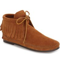 Minnetonka Square Toe Casual Style Ankle & Booties Boots